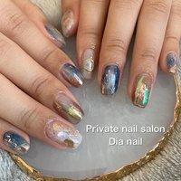 #春 #秋 #女子会 #ハンド #グラデーション #ニュアンス #Private nail salon Dia nail #ネイルブック