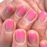 #シンプルネイル #ピンク #ハンド #sharon nail #ネイルブック