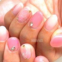 #さくら #桜 #ハンド #sharon nail #ネイルブック