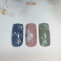 春ネイルデザイン🌸🌼🌸  . . #フラワーデザイン  #お花ネイル  #花柄ネイル  #ふんわりフラワー #private nail salon RION #ネイルブック