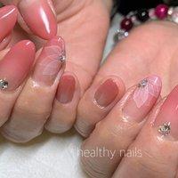 #春 #オールシーズン #ハンド #healthy nails #ネイルブック
