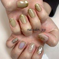 #nail#ハンド #お客様 #ジェル #ネイルモデル #春 #nail salonJOJO #ネイルブック