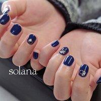 nail salon SOLANA..⭐︎ #ハンド #ショート #nail salon SOLANA #ネイルブック