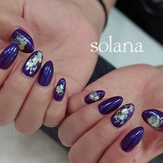 nail salon SOLANA..⭐︎ #ハンド #ロング #nail salon SOLANA #ネイルブック