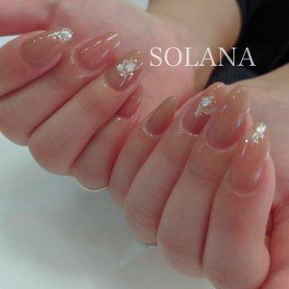 nail salon SOLANA⭐︎ #ハンド #ロング #nail salon SOLANA #ネイルブック