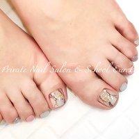 soft pastel foot nails 💅👣✨  持込デザインを【Eureka/ユーレカ】風にアレンジ💓 ペールトーンで大人上品にまとめました💁♀️💡  お履物に足の爪が圧迫されないよう、 当店ではストーンの大きさや高さにもこだわりながら 心を込めて丁寧に施術をしております💍✨✨  歩き方や足の形に合わせて、 デザインをご提案いたします❣️  些細なことでもかまいません🙆♀️💕 足の爪に関するお悩み、お気軽にご相談ください🌹✨   ♡*・゜゚・*:.。..。.:*・'♡☺︎♡'・*:.。. .。.:*・゜゚・*♡ 💍eurekanailサロン&スクール 池袋西武東口より徒歩5分  健康な爪を育み 爪を傷めない #ジェルネイル  #フィルイン推奨サロン ✨  💅ネイルブックで即時予約OK ♡*・゜゚・*:.。..。.:*・'♡☺︎♡'・*:.。. .。.:*・゜゚・*♡  #KOKOIST  #ココイスト  #fillin  #フィルイン  #フィルイン推奨サロン  #maogel導入サロン池袋  #ココイストディプロマセミナー #ココイストマスターエデュケーター  #ネイル  #大人上品ネイル  #大人のネイルサロン  #池袋ネイルサロン  #目白ネイルサロン  #雑司が谷ネイルサロン  #池袋ネイルスクール  #プライベートネイルサロンユーレカ #privatenailsaloneureka  #nailbook  #ネイルブック  #フット  #フットネイル  #春  #春ネイル  #春ネイル2020  #シンプル  #ピンク  #シェル  #大人可愛い  #大人上品ネイル  #ワンカラー  #ミントグリーン  #大人ネイル  #大理石  #ラメ  #パステル  #ソフトパステル  #ペールトーン  #ペールカラー #春 #夏 #リゾート #オフィス #フット #シンプル #ラメ #ワンカラー #ビジュー #大理石 #ショート #ピンク #ターコイズ #パステル #ジェル #お客様 #Seiko Furuya #ネイルブック