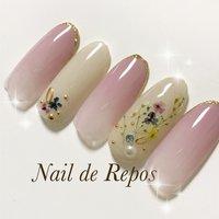 #ハンド #Nail de Repos〜ルポ〜 #ネイルブック