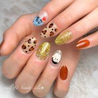 #キャラクターネイル#しんちゃんネイル #クレヨンしんちゃん #ぼーちゃん #nail & beauty éclat❥ #ネイルブック