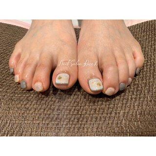 #天然石 #くすみネイル #Nail Salon Rose,h #ネイルブック
