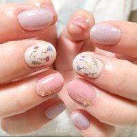 #春 #ハンド #フラワー #ピンク #ジェル #Naoko Kurosawa #ネイルブック