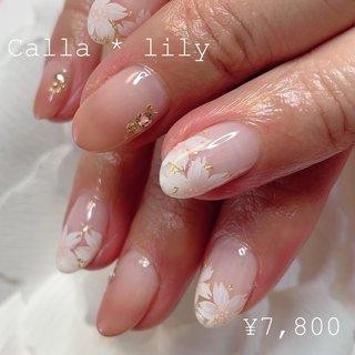 ご来店ありがとうございます! エアジェルグラデーション桜アートになります😊 上品でとってもかわいいです💅  当店#フィルインオフ になります。 ※初回はお爪の状況を見てアセトンオフの場合もあります。 * ・ ° ・ . * オフは基本的にフィルインでさせていただきます。 フィンインオフ代¥1100になります😳  ワンカラー・・・・・¥5800 ラメグラデ・・・・・¥5800 エアジェルグラデ・・¥5800 カラーグラデ・・・・¥6300 フレンチ・・・・・・¥6800 (スカルプは上記価格+¥3000になります。) (全て税込価格になります。) * ・ ° ・ .  #ネイル #恵比寿 #かわいいネイル #nail#スカルプチュア #ラメネイル #オフィスネイル#シンプル#simple#恵比寿ホームサロン#ホームサロン#東京#東京ネイル#都内#tokyo #駐車場あり#プライベートサロン  #春ネイル #フィルイン一層残しが出来るサロン #かわいい #恵比寿ネイルサロン #ホームサロン#ネイル#nail#カラーが豊富なネイルサロン #アルコールok #飲みながらネイル #wifiあり #子連れネイルサロン #個人サロン #定額デザイン #アートし放題 #ワンちゃんok #ジェルスカルプ #スカルプチュア #手書きアート #エアジェル#パラジェル #アゲハジェル #ミラージュ #スワロフスキー #かわいい #駐車場のあるネイルサロン #駅近ネイルサロン  #オフィス#さくらネイル #桜#ジェル #女子会 #シーズンネイル #春ネイル#グラデーション #春 #卒業式 #入学式 #女子会 #ハンド #シンプル #グラデーション #フラワー #ショート #ホワイト #ベージュ #ピンク #ジェル #お客様 #calla * lily #ネイルブック