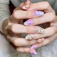 ❤️お客様ネイル❤️ 2度目のご来店本当に嬉しかったです🥰 綺麗な手、爪にネイルアートが映えます💅❤️❤️❤️ #春 #パーティー #デート #女子会 #ハンド #シェル #ハート #ニュアンス #ホワイト #ピンク #パステル #ジェル #お客様 #Miyuki Nakayama #ネイルブック