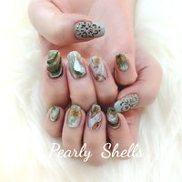 #pearly.shell.s #ネイルブック