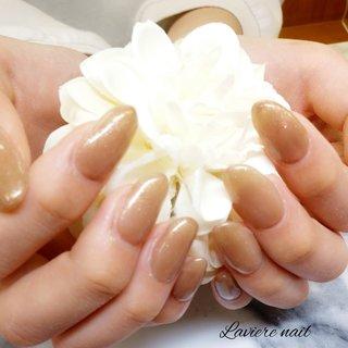 #スカルプワンカラー #Laviere nail #ネイルブック