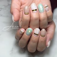 #A-nail #ネイルブック