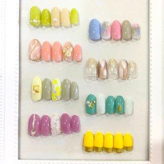 4月定額デザイン #春ネイル #ラテネイル #北九州 #ネイル #ジェルネイルデザイン #lattenail_kokura #ネイルブック