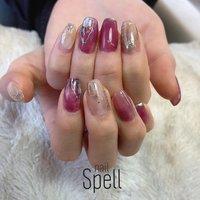 Bordeaux nuance💅 ︙ #gelnail#gel#nailspell#nailstagrame #nailsalonspell #nails #春ネイル#ネイル#手描きアート#ジェルネイル#ネイルデザイン#ボルドーネイル#ネイルブック #kokoist#上田市ネイルサロン#nuancenails #ニュアンスネイル#ニュアンスデザイン #nailSpell_azusa #ネイルブック