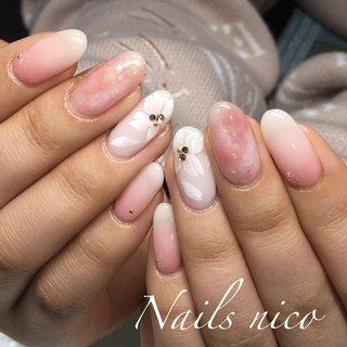#桜ネイル #水戸市ネイル&スクール Nails nico #ネイルブック