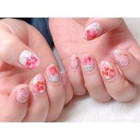 フラワーネイル🌷 ご来店ありがとうございました🙇♀️💓 ・ #nails #nailart #naildesign #nailstagram #flowernails #ネイルアート#フラワーネイル#お花ネイル#春ネイル#大人ネイル#ピンクネイル#仙台ネイルサロン #お客様 #高橋 #ネイルブック