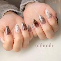 . シースルーブラック♡ シルバーと合わせてとってもお洒落です✰* .  #nails#springnails#onecolornails#simplenails#officenails#officenails#naturalnails#blacknails#silvernails#clearnails#ネイル#大人ネイル#大人可愛いネイル#上品ネイル#可愛いネイル#春ネイル#オフィスネイル#ワンカラーネイル#シースルーネイル#ブラックネイル#シルバーネイル#グリッターネイル#大理石ネイル#鹿児島#鹿屋#都城#日南#串間#志布志#志布志ネイル#志布志milimili #オールシーズン #ハンド #ラメ #グラデーション #シースルー #大理石 #レオパード #ミディアム #グレー #ブラック #シルバー #ジェル #milimili #ネイルブック