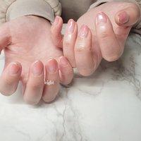 オールシーズン素敵なピンクグラデーション💗 うるうる艶々💗  #和歌山市ネイル#ピンクグラデーションネイル#上品ネイル #Private nail salon eight #ネイルブック