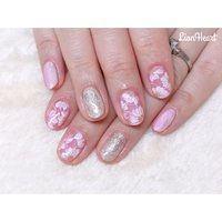 春らしくピンクのフラワーネイル🌷 ご来店ありがとうございました🙇♀️💓 ・ #nails #naildesign #nailart#flowernails #ネイルアート#春ネイル#フラワーネイル#お花ネイル#ピンクネイル#上品ネイル#大人ネイル#仙台ネイルサロン #お客様 #高橋 #ネイルブック
