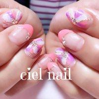 #春 #オールシーズン #Chiho♥ciel #ネイルブック