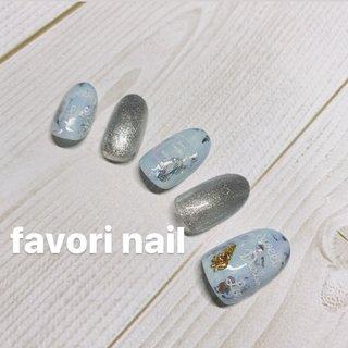 暖かくなってきましたね😊 ブルーやグリーンでランダムに💅  #favorinail #nail#nails #nailsalon #nailart #naildesign #nailstagram #naildesigns #nailbook #岡山#広島#井原#福山#加茂#駅家#プライベート#プライベートネイルサロン #成人式 #ハンド #ゆーこ #ネイルブック