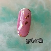 キャンペーン2400円 期日はフェイスブックページ、ライン@に記載 #ハンド #ピンク #ジェル #ネイルチップ #そらみ #ネイルブック