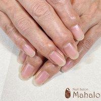 ハンド☆オフのみ💅✨ オフした爪は薄くなることなく、とても綺麗なお爪ら、思わず綺麗と言葉が出てしまいました🎵 こちらのお客様は長くジェルネイルを楽しまれていますが、オフしても健康的な爪の暑さ、綺麗さがあります✨  ジェルネイルのオフは自爪への負担をかけないように細心の注意をはらって行います😊 ネイルオフは工程がとても大切で、ご自身でオフされたり、伸びてきて浮いたジェルを剥がしてしまうと爪が薄くなることがあります。その場合、しばらくは爪が伸びては折れるを繰り返してしまいます😢 ネイルオフを料金を払ってまでと思うかもしれませんが、ご自身の爪を大切にするためにも、是非ともネイルサロンでのオフを強くお勧めします✨ #nail_salon_mahalo #ネイルブック