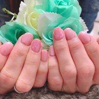 #ピンク #桜ネイル #春 #オフィス #オフィスネイル #さりげないおしゃれ #鹿屋 #鹿屋ネイル #鹿屋ネイルサロン #ハンド #ワンカラー #フラワー #ピンク #ジェル #お客様 #maotty #ネイルブック