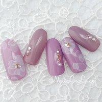 ┴─┴┴─┴┴─*.+゚✩.*˚ . ふんわりたらしこみも 紫陽花カラーで❁❀✿✾❀ . *.+゚✩.*˚┴─┴┴─┴┴─ . . . . #nailstylist #nailsaddict #nailsnailsnails #coolnailart #frenchnails #simplenails #beautyas #ikebukuro #privetesalon #nailleluce  #シンプルネイル #スタイリッシュネイル #シンプルなネイルが好き #池袋南口 #プライベートサロン #すみれ色ネイル #モーブカラーネイル #ブーケネイル #大人のネイルサロン #大人のネイルアート #オトナ女子ネイル  #手描きフラワーネイル #手描きフラワー #ふんわりお花ネイル #たらしこみフラワーネイル #たらしこみフラワー #m.hirano•*¨*☆*・゚〖NailLeLuce〗 #ネイルブック