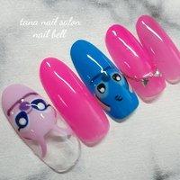 ネイルでディズニー🏰♡ #キャラクターネイル #ディズニー #girls #spring #さいとうりな #nailbook #春ネイル #ジェルネイル #nailart #kawaii #instagood #love #nailsoftheday #japannail #ネイルブック #美甲 #相模原市 #japan #fashion #stone #date #artnails #gel #cute #instagood #instanails #gelnails #naildesign #nailart #photography #smooky #nailstagram #キャラクター #さいとうりな【 nail bell ネイルベル】 #ネイルブック