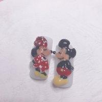 3Dミッキー&ミニー  コロナに負けるな!! #nailsalon_sirene #ネイルブック