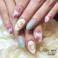 #春ネイル #ジェル #Bliss☆Sachi #ネイルブック