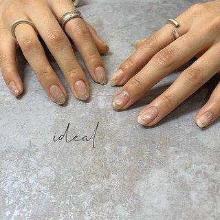 brown beige×silver🙌🙌 . お持ち込みデザインを参考に💐 爪先や、部分的に使ったむら塗りミラーなど可愛いがぎっしり😤♡ クリアの天然石に見える凸は、実はジェルで作ってます✨ ぽろっと取れる心配なしなのでストレスフリー💋 . 気に入っていただけて良かったです😂 ご遠方よりありがとうございました💓 . ご予約は... プロフィールのURL 「NAIL BOOKネイルブック」から簡単ネット予約できます🌿  #idealnail #ideal #ohalnail #鈴鹿市ネイルサロン #鈴鹿ネイル #鈴鹿市ネイル #津ネイル #四日市ネイル #亀山ネイル #三重ネイル #三重ネイルサロン #鈴鹿美容室 #鈴鹿美容院 #nail #nails #nailart #nailstagram #instanails #nailpic #nailpics #ニュアンスネイル #ニュアンスネイルデザイン #ニュアンスアート #おしゃれさんネイル #おしゃれな人の爪 #むら塗りミラー #ブラウンベージュ #くすみカラー #春 #夏 #旅行 #オフィス #ハンド #シンプル #ニュアンス #ショート #クリア #シルバー #ジェル #お客様 #ideal_OHAL #ネイルブック