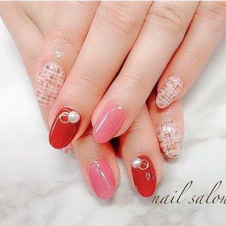 #nailsalonAsian #Asian #nail #nails #nailart #naildesign #nailsalon #gel #gelnail #gelart #beauty #cute #simple #hand #handnail  #shinjuku #shibuya #ikebukuro #shinagawa #midtown #ネイルサロン #ネイル #ネイルデザイン #ネイルアート #ジェル #ジェルネイル #ジェルデザイン #大人ネイル #大人可愛い #ツイード #ツイードネイル #パール #赤ネイル #ピンクネイル #新宿 #渋谷 #池袋 #品川 #ミッドタウン前 #パーティー #デート #女子会 #ハンド #ワンカラー #パール #ツイード #ミディアム #ピンク #レッド #ジェル #NailSalon_Asian #ネイルブック