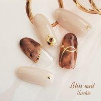 #sample #ジェル #Bliss☆Sachi #ネイルブック