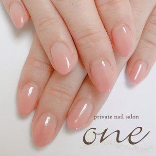 グラデーションの美しさに改めて気づかされます #春 #オールシーズン #グラデーション #ピンク #private nail salon one #ネイルブック