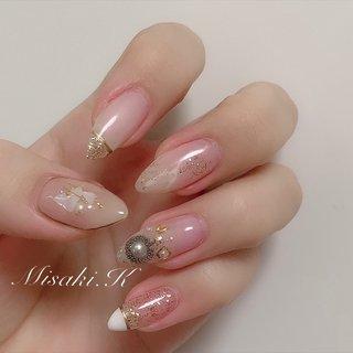 . *・。.°*・.°・。*.・。・.*・。*        Hair Make rise      riche nail & eyelash      Nailist❤︎Misaki.K     《 2020.04.24 》   *・。.°*・.°・。*.・。・.*・。*  #ネイル #大阪ネイルサロン #トレンドネイル #春ネイル #ネイルデザイン #ネイルブック #ネイルアート #ジェルアート #美容 #ネイル2020 #followme #nails #beauty #jelnails #springnails #naildesign #nailart #newnail #kashiwagimisaki #ニュアンスネイル #先端ラメ #シンプルネイル  *・。.°*・.°・。*.・。・.*・。* #春 #オールシーズン #デート #女子会 #ハンド #ラメ #ビジュー #アンティーク #デコ #ニュアンス #ロング #クリア #ベージュ #ゴールド #ジェル #セルフネイル #柏木 美咲 #ネイルブック