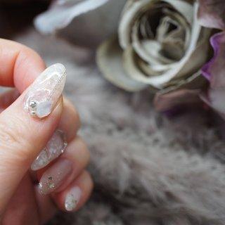 #ホログラム #ラメ #シェル #チェーン #ミラー #埼玉県上尾市jewel nail #ネイルブック