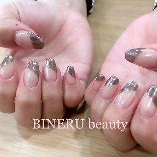ブラックミラーネイル✨💕 #ミラーネイル #ブラックミラー #BINERU beauty #静岡ネイルサロン #BINERU beauty #ネイルブック
