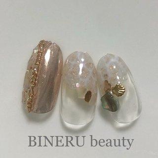 春のミラーネイル💕 #ミラーネイル #キラキラネイル #BINERU beauty #BINERU beauty #ネイルブック