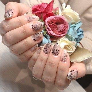 #botanical #leaf #flower #agehagel #shimonoseki #private #myhome #drop_nail #drop #nail #下関市 #プライベート #自宅 #下関市プライベートネイルサロン #下関市自宅ネイルサロン #ドロップネイル #ドロップ #ネイル 103 #ハンド #ワンカラー #フラワー #ボタニカル #ミラー #drop_nail #ネイルブック