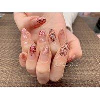 #ラメ #鬼滅の刃 #Nail Salon Rose,h #ネイルブック