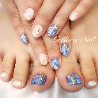 ✧˖°⌖ Hand &Foot design ✧˖°⌖  。.✽.。。.✽.。。.✽.。。.✽.。。.✽.。。.✽.。。.✽.。。.✽.。。.✽.。。.✽.。。.✽.。   ✧貴方のためだけにカラーもデザインもオートクチュールいたします✧˖°⌖   ご予約は『ネイルブック』から instagramトップページから予約フォームへ移動出来ます✧˖°⌖ https://nailbook.jp/nail-salon/27386/reservation/   。.✽.。。.✽.。。.✽.。。.✽.。。.✽.。。.✽.。。.✽.。。.✽.。。.✽.。。.✽.。。.✽.。  #crelorernail #クレローレネイル #麻布十番ネイルサロン #六本木ネイルサロン #ネイルサロン #ハンド#ネイルデザイン #ネイルアート #美爪 #フィルイン #nail #nailart #naildesign #ネイルブック#オフィスネイル #シンプルネイル #オトナネイル #オトナデザインネイル #スワロフスキー#パラジェル#エレガント#オートクチュールネイル#会員制ネイルサロン #デニムネイル#ニュアンスアート #春 #夏 #ハンド #タイダイ #デニム #ホワイト #ブルー #ネイビー #ジェル #お客様 #Crélorer Nail【クレローレネイル】 #ネイルブック