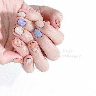 Hello! I'm from Taiwan🇹🇼 Hope you like my design🥰 #taiwan #naildesign #art #beauty #gelnails #kofenail #designd_by_Kimi #Kɪᴍɪ 🐈 #ネイルブック