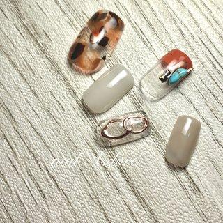 #nuance #nails #ネイル #メタリック #ネイルデザイン #サンプル #ニュアンス #nail A.dore #ネイルブック