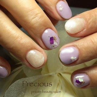 . . purple nails🔮✩.*˚ . . . . Precious 048-915-5205 . #Precious#越谷ネイルPrecious#定額制#ネイルサロン#越谷#新越谷Precious#オリジナル#シェルネイル#春夏ネイル#梅雨ネイル#ショートネイル2020#koshigaya#saitama#nail#NAIL#cute#shel nails#purple nails #Precious 〜プレシャス〜 #ネイルブック