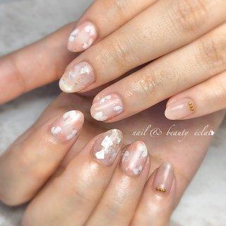 #フラワー #春ネイル#パステル #nail & beauty éclat❥ #ネイルブック